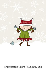 Snow Much Fun Illustration