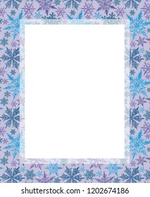 border frame abstract digital art derived stock illustration
