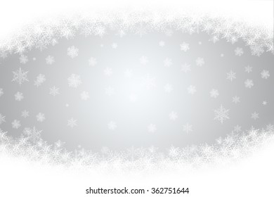 snowy Christmas background in vintage style
