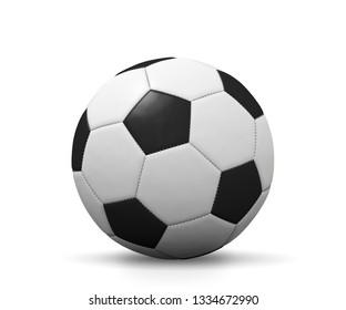 soccer ball 3d illustration
