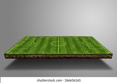 Soccer field Suspended