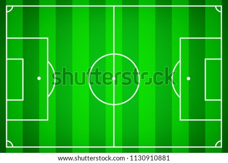 soccer field template soccer stock illustration 1130910881