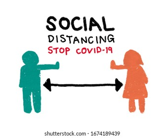 Social distancing: a method for prevention of COVID-19 spreading