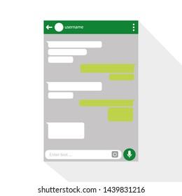 Imágenes, fotos de stock y vectores sobre Phone Text Message