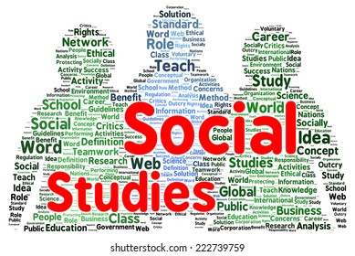social studies images stock photos vectors shutterstock https www shutterstock com image illustration social studies word cloud shape concept 222739759