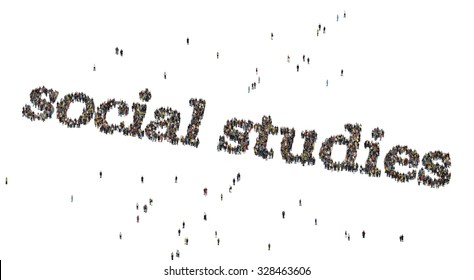 social studies images stock photos vectors shutterstock https www shutterstock com image illustration social studies words crowd above 328463606