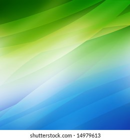 soft abstract background with waves