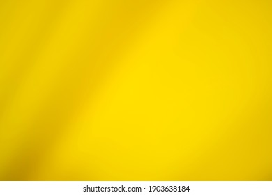 Soft, abstract and blurred yellow background