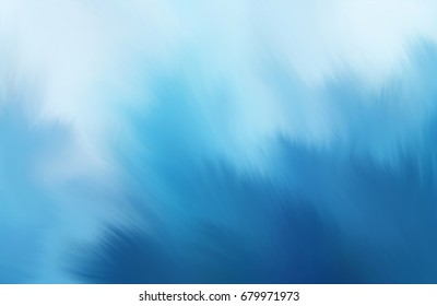 Soft blue abstract background, Sun burst concept on blue background, For the text, Smudge blue background