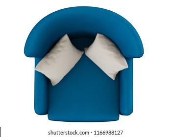 Armchair Top View Images, Stock Photos & Vectors | Shutterstock