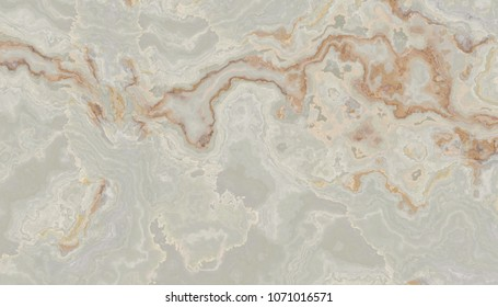 Soft colored onyx tile with green and orange weaves. Background texture for design.