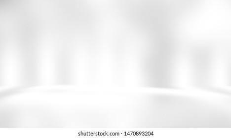 soft gray studio room background, grey floor backdrop with spotlight. - Shutterstock ID 1470893204
