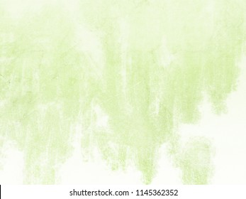 Soft green watercolor background with brush strokes