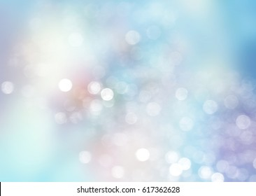 Soft pastel blue sky blurred light abstract background.Spring winter backdrop.