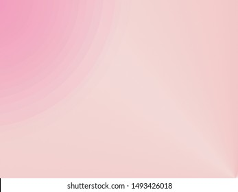 Soft pink gradient color for background or wallpaper, website and banner material.