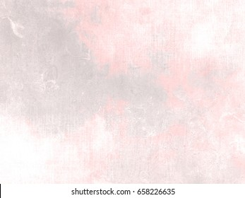 Soft pink grey background texture in pale watercolor - abstract pastel morning sky