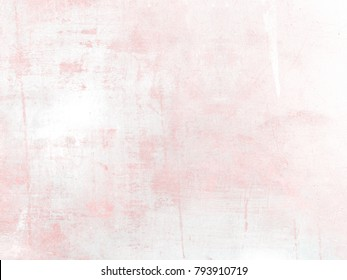 Soft pink watercolor background texture - aquarel paper in pastel spring colors