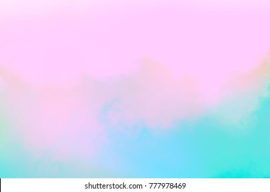 Soft sweet blurred pastel color background.Cute christmas pastel bright bokeh concept from a dream presentation for work or advertisement.Light natural ,Baby shower ,Valentine,cloud,Display background