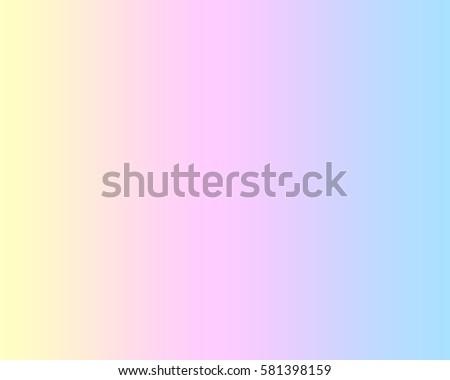 Soft Sweet Blurred Pastel Color Background Stock Illustration