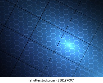 Solar Panel - Modern Abstract Background