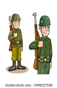 soldier drawings for children's books