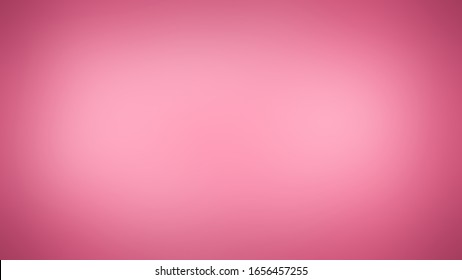 Solid studio gradient with degradation of one Baker Miller Pink color. Classy and simple background with evenly filled shade and darkening at the edges.