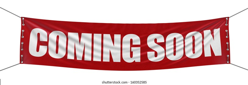 Â?Â?Coming soon banner  (clipping path included)