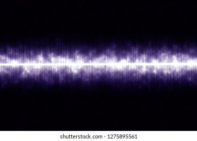 soundwave with cloud graphic background