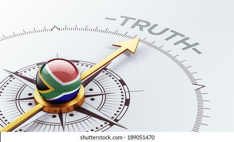 South Africa High Resolution Truth Concept