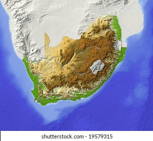 topographic map of south africa Topographical Map South Africa Images Stock Photos Vectors