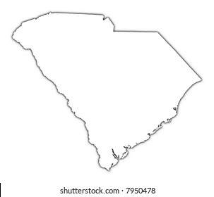 South Carolina Outline Stock Illustrations Images Vectors