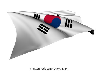 South Korea flag - collection no_5