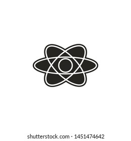 space, chemistry, physics icon. Simple glyph, flat illustration of Space icons for UI and UX, website or mobile application