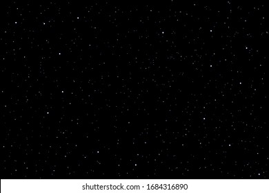 Space with stars galaxy background.