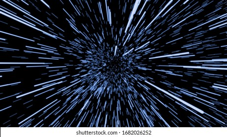 Space Traveling Illustration, Speed of Light, Abstract Light, Super Speed, Fiber Optics Light, Traveling, Particle