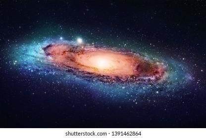 Space universe nebula star light