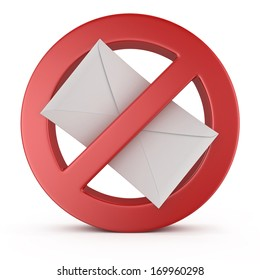 spam warning sign