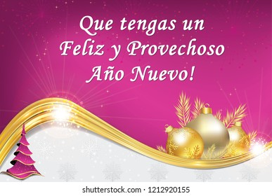 spanish greeting card designed for the seasons greeting celebration text translation wishing you a