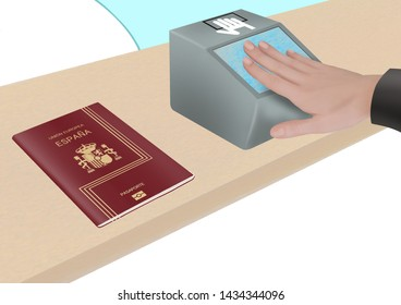 Spanish Passport Images, Stock Photos & Vectors | Shutterstock