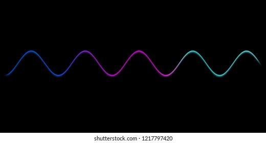 Speaking sound wave lines illustration.