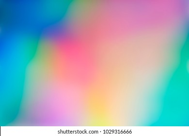 Spectrum abstract vaporwave holographic background, trendy colorful backdrop in pastel neon color. For creative design cover, CD, poster, book, printing, gift card, fashion web and print