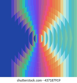 Spectrum Stripes Pattern