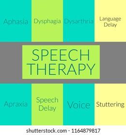 Speech therapy awareness