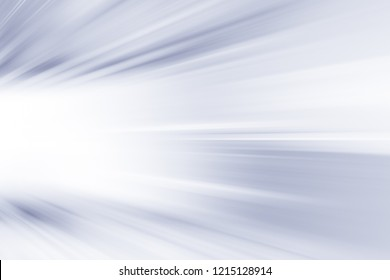 SPEED LIGHT BACKGROUND, BLURRED MOTION LINES ON WHITE, COLD WINTER PATTERN