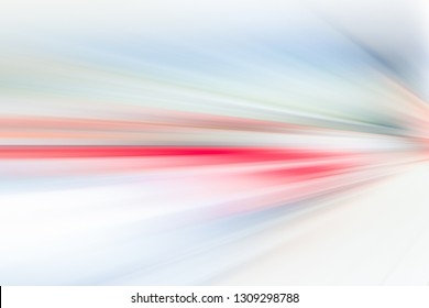 SPEED LIGHT BACKGROUND, BLURRED MOTION ON THE HIGHWAY ROAD, ACCELERATION