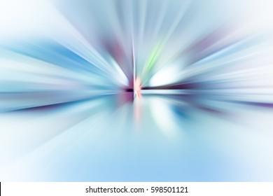 SPEED LIGHT BACKGROUND, FLASHLIGHT, PERSPECTIVE, BLUE DESIGN