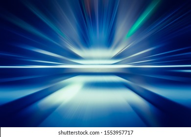 SPEED LIGHT MOTION LINES BACKGROUND, DIGITAL SCREEN SAVER OR DISPLAY TEMPLATE, HIGH TECH DESIGN