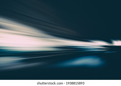 SPEED MOTION LINES ON THE BLACK NIGHT HIGHWAY ROAD, TRANSPORTATION BACKGROUND