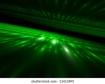 Speeding through Cyberspace