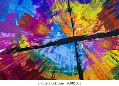 Spin Cross Painting